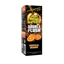 HIGH VOLTAGE DETOX DOUBLE FLUSH  - TROPICAL ORANGE