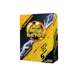 HIGH VOLTAGE DETOX - FAST FLUSH CAPSULES