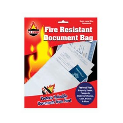 FIRE RESISTANT DOCUMENT BAG