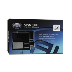 AWS 1kg 1000 x 0.1g