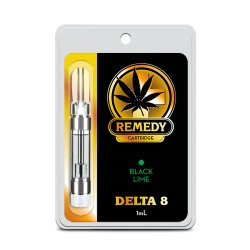 Remedy Delta 8 1ml  -  Black Lime