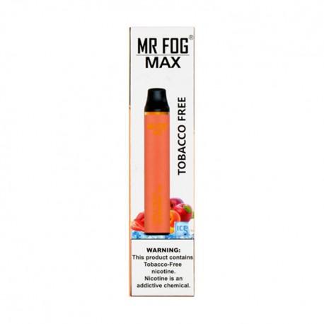 Mr Fog MAX Disposable 10ct Tobacco Free APPLE PEACH STRAWBERRY ICE