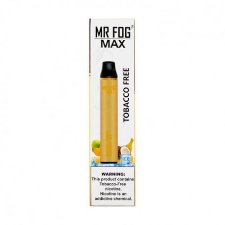 Mr Fog MAX Disposable 10ct Tobacco Free BANANA ICE CREAM