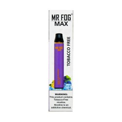 Mr Fog MAX Disposable 10ct Tobacco Free BLUEBERRY RASPBERRY LEMON