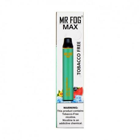Mr Fog MAX Disposable 10ct Tobacco Free KIWI WATERMELON ACAI ICE