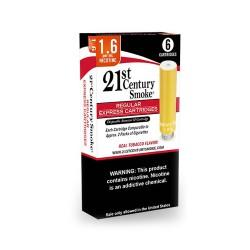 21ST CENTURY Smoke Express Cartridges REGULAR 3ct