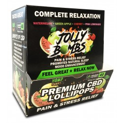 Hemp Bombs Jolly Bombs Box 24ct/40mg