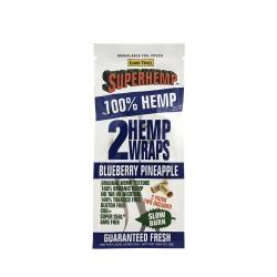 Superhemp Hemp Wraps 25/2ct - Blueberry Pineapple