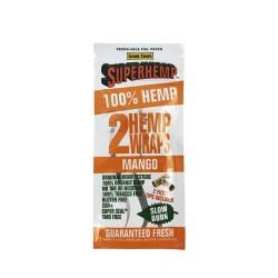 Superhemp Hemp Wraps 25/2ct - Mango