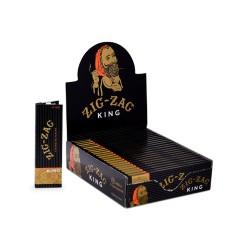 Zig Zag 24ct - King  (BLACK)