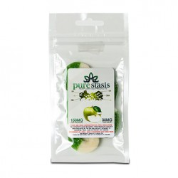 Pure Stasis CBD Candy (150mg) - Green Apple