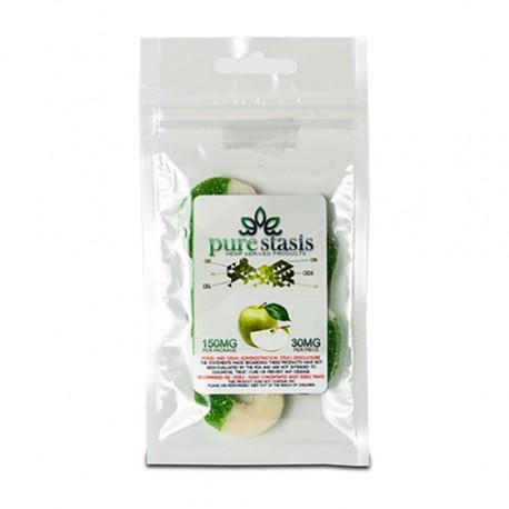 Pure Stasis CBD Candy (150mg) - Green Apple