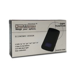 DigiWeigh DW-1000BC 1000x0.1g