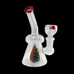 """6"""" Water Pipe Single Perc (Cone)"""