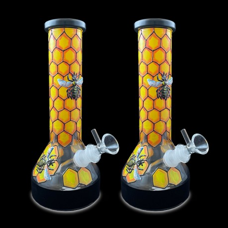 """10"""" Water Pipe 3~D Bee"""