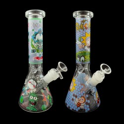 "10"" Water Pipe Rick & Morty Assorted"