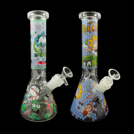 """10"""" Water Pipe Rick & Morty Assorted"""