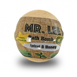 Mr. Lee's Bath Bomb 6oz 125mg - Apricot & Honey