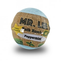 Mr. Lee's Bath Bomb 6oz 125mg - Peppermint