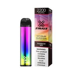 SIRIUS 10CT, 10ml 5%  -  RAINBOW MIX