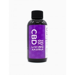 CBD Living (1) 4oz 120mg  A.M. Syrup GRAPE