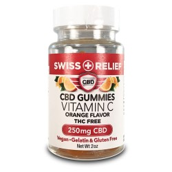 Swiss Relief - Gummies - 250mg - VITAMIN C (Orange)
