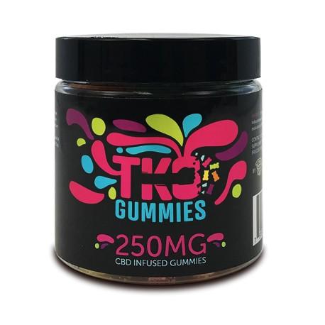 Terp Nation Gummies 250mg SOUR BEARS