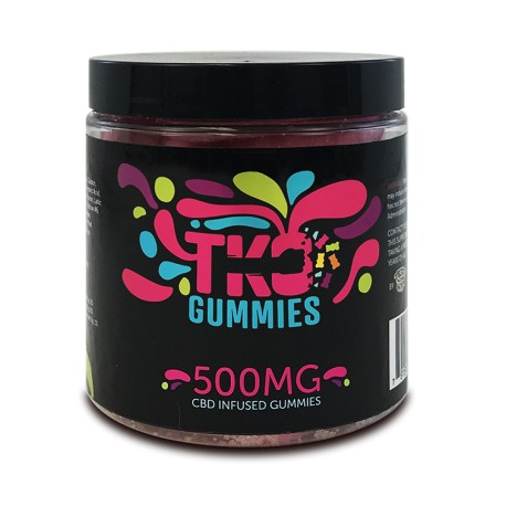 Terp Nation Gummies 500mg FRUIT SLICES