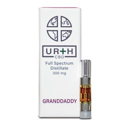 URTH CBD 300mg 30ml Tank - GRANDDADDY