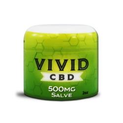 Vivid CBD Salve 500mg Jar (2oz) -  Topical Skin Cream