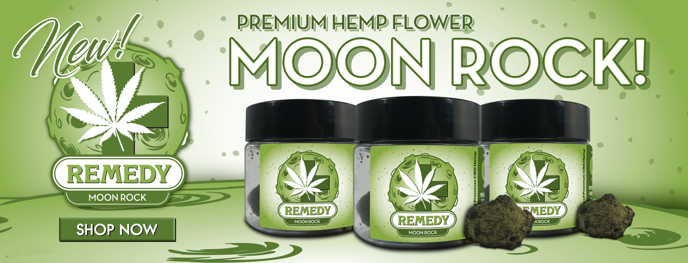 Remedy Moon Rock Premium Hemp Flower