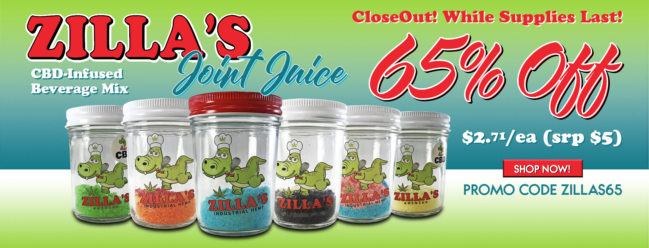 Zilla's Joint Juice 65% Off